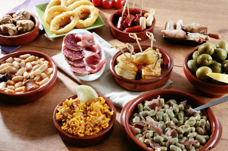 a variety of spanish tapas madrid photo 1512942 770tall